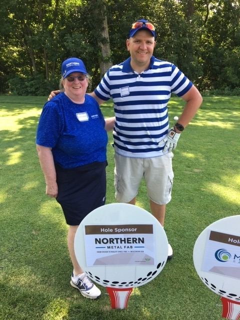 NMF at golf tournament 2019