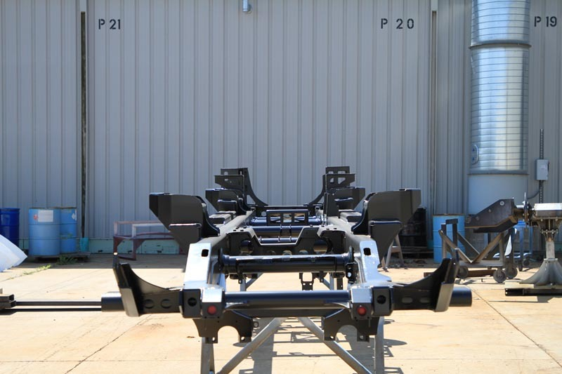 Industrial Vehicle Frame 1
